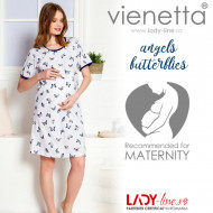 Camasa pentru Gravide si Alaptat Vienetta 'Angels Butterlfy'