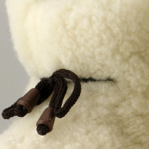 Cizme de Interior Tip Botosi din Lana Naturala Model 'Căpâlna'