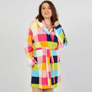 Halat Dama Marimi Mari din Polar Fleece Vienetta 'Colours'