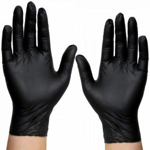 Manusi Nepudrate Examinare si Protectie Aurelia® Bold® Black 100 Buc