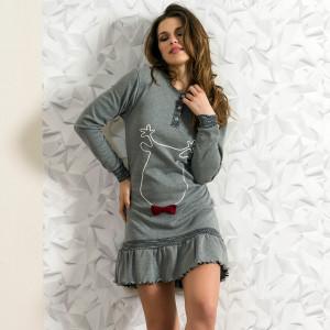 Nightwear Snelly L'Originale, 'Sweet & Happy' Gray