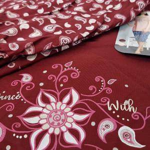 Pijama Dama Vienetta, Bumbac 100%, Model Love Dancing