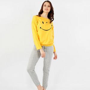 Pijamale Confortabile Dama Vienetta Model 'Smile Today'