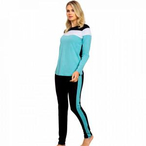 Pijamale Dama Bumbac 100% Vienetta Dream Model 'Harmony Fit'