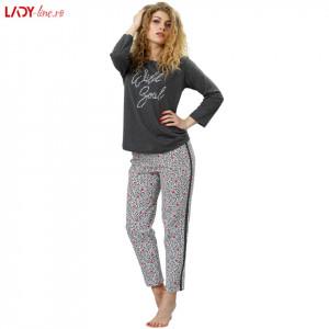 Pijamale Dama M-Max, Bumbac 100%, 'Wild Soul'