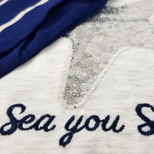 Pijamale Dama Vienetta, Model 'Sea You Soon'