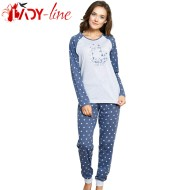Pijamale Vienetta Secret, Bumbac 100%, 'I Love Kitty'