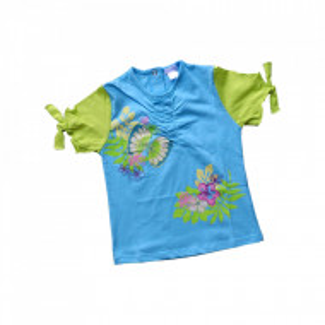 Tricou Copii, Iana Collection, Model 'Happy Flowers'