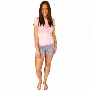 Pijamale Dama Maneca si Pantalon Scurt, Senso, Model Be Lovely