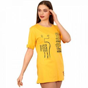 Camasa de Noapte Mini, Ghiche Fashion, Model 'The Cities Moschino' Yellow