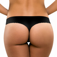 Chilot Tanga fara Cusaturi Secret's Essential, Negru