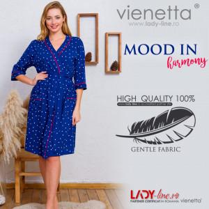 Halate Dama din Bumbac Vienetta Model 'Mood in Harmony'