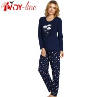 Pijama Dama Maneca/Pantalon Lung, 'Take Me To The Stars', Vienetta