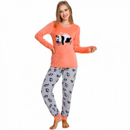 Pijama Dama Soft Velur Vienetta Model 'Nap Time'