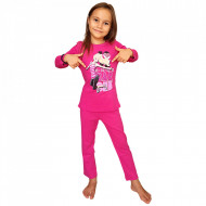 Pijamale Copii 'Love Barbie', Bumbac 100%, Brand Barbie