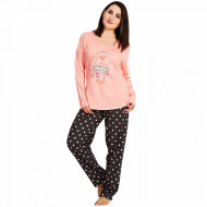 Pijamale Dama Marimi Mari Vienetta, 'Love Story' Pink Sum