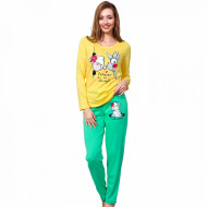 Pijamale Dama Vienetta Model 'Being Happy'