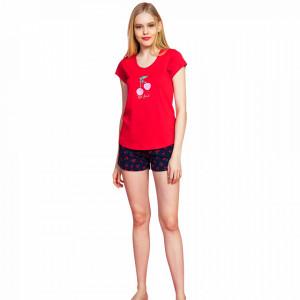 Pijamale Dama Vienetta, 'My Best Friend' Red