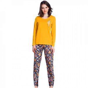 Pijamale Vienetta din Bumbac 100%, 'Fall In Love'
