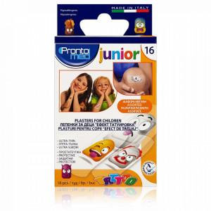 Plasturi Copii cu Efect de Tatuaj Ultra Subtiri Testate Dermatologic P3838, 16 Buc