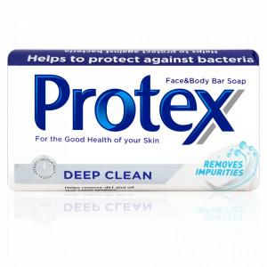 Sapun Solid Antibacterian Maini Fata si Corp Protex Deep Clean 90 Gr.