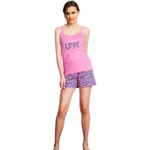 Pijamale Dama Vienetta, Bumbac 100%, 'Show Me Your Love'