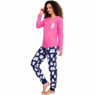 Pijamale Dama Vienetta, 'Is Kitty Day' Pink
