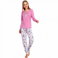 Pijamale Dama Vienetta, 'Dreams Come True' Pink