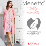 Compleu Mamici si Gravide Vienetta, 'Teddy Moments' Pink