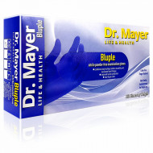 Manusi Examinare Nitril Nepudrate Albastre Dr. Mayer 100 Bucati