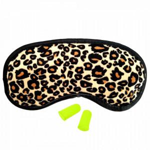 Ochelari Dormit si Antifoane Interne Urechi, Leopard
