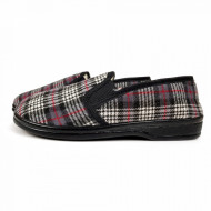 Papuci de Casa pentru Interior si Exterior din Lana de Oaie Model 'British in Style'