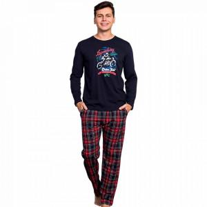 Pijama Barbati Bumbac 100% Gazzaz by Vienetta 'Legendary Racers'