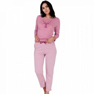 Pijama Dama Bumbac, M-Max, 'Adventurous Night'