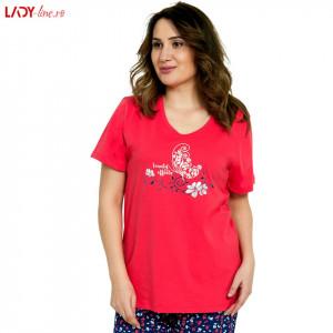 Pijama Dama Good Look by Vienetta, 'Beauty Effects' Red