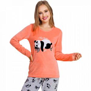 Pijama Dama Soft Velur Vienetta Model 'Nap Time'