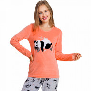 Pijama Dama Soft Velur, Vienetta, 'Nap Time'