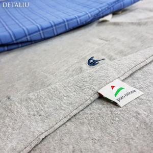 Pijamale Barbati, Bumbac Natural, Contro Senso, 'Owner Of Bed' Gray