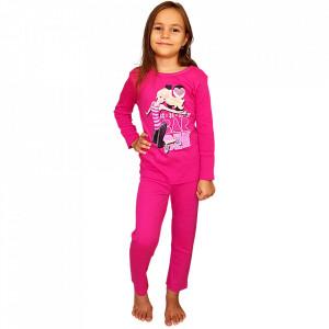 Pijamale Copii 'Love Barbie', Bumbac 100%, Brand Barbie