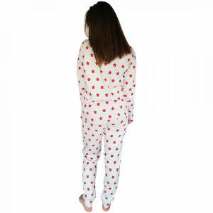 Pijamale Dama Maneca Lunga Milk and Honey, Model Stars & Puppies