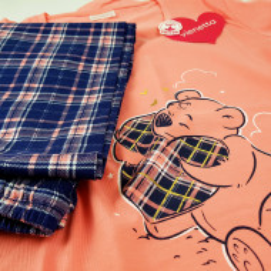 Pijamale Dama Marimi Mari Vienetta Bumbac 100%, 'Loving Dreams'