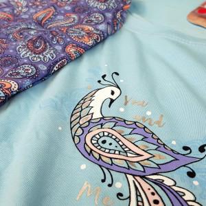 Pijamale Dama Marimi Mari Vienetta, 'You and Me' Blue