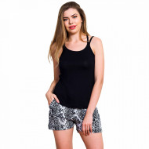 Pijamale Dama Vienetta Classic, 'Black Beauty'