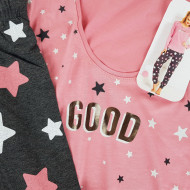 Pijamale Dama Vienetta, 'Good' Pink