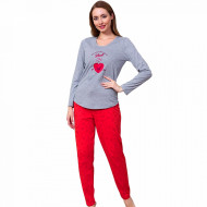 Pijamale Dama Vienetta Model 'You are Always in My Heart'