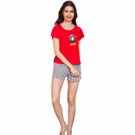 Pijamale Dama Vienetta 'WeekEND' Red