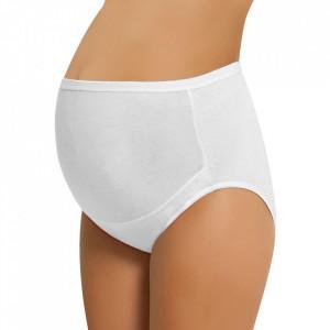 Chilot Prenatal Gravide NBB Lingerie, Bumbac 95%, Alb