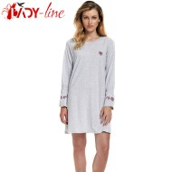 Camasa De Noapte Maneca Lunga, 'Tradition', DN Nightwear