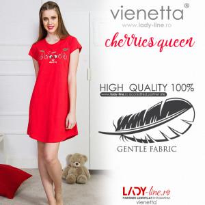 Camasa de Noapte Vienetta, 'Cherries Queen'