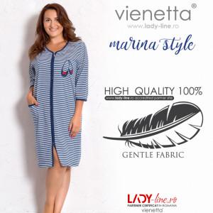 Halat Dama Bumbac Marimi Mari Vienetta, 'Marina Style'